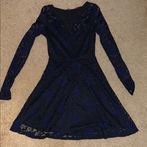 Lacey long sleeved dress